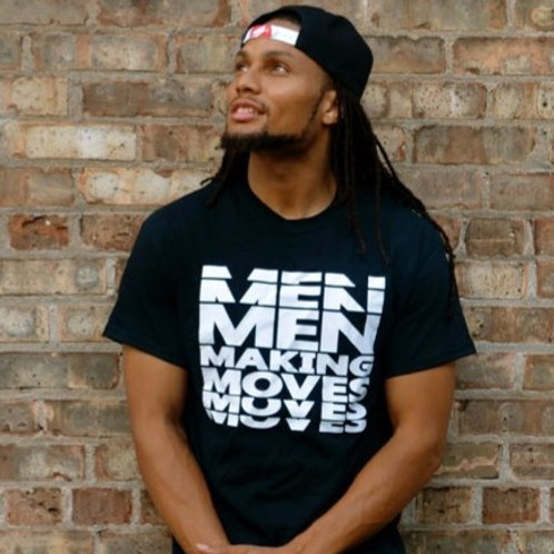 Men Making Moves - Black
