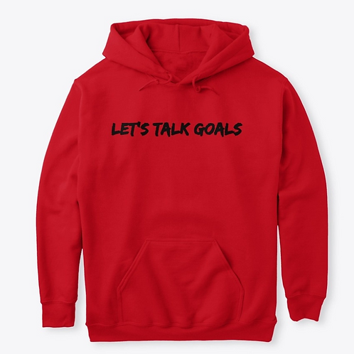 NWCL Lets Talk Goals Hoodie