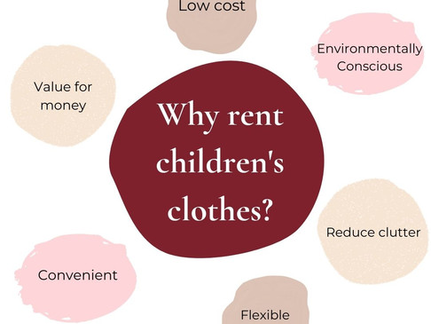 The Benefits of Renting Children's Clothes