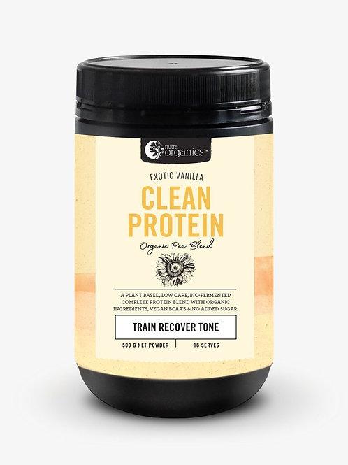 Nutra Organics - Clean Protein - Vanilla - 450g
