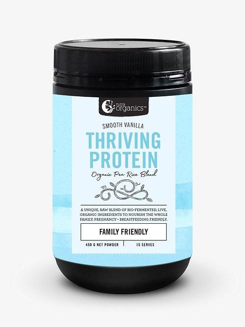 Nutra Organics - Thriving Protein - Exotic Vanilla - 450g