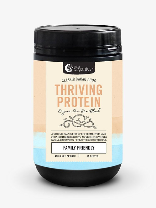 Nutra Organics - Thriving Protein - Cacao Choc - 450g