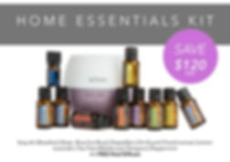 doTERRA Home Essentials kit - Revitalizeme Laura Warren