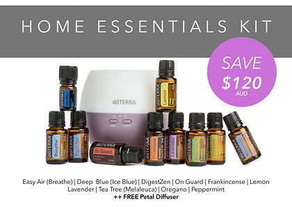 doTERRA Home Essentials kit - Revitalizeme Laura Warren