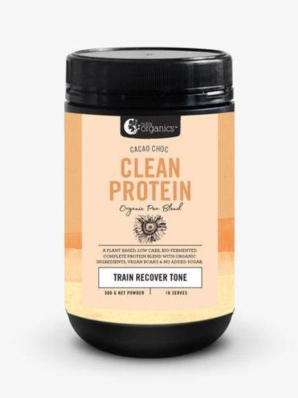 Nutra Organics - Clean Protein - Cacao Choc - 450g