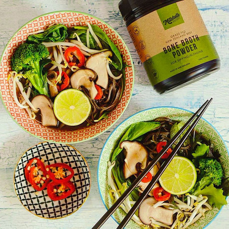Nourishing Asian Pho incorporating the benefits of Bone Broth