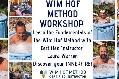 Wim Hof Method Workshop Gift Voucher