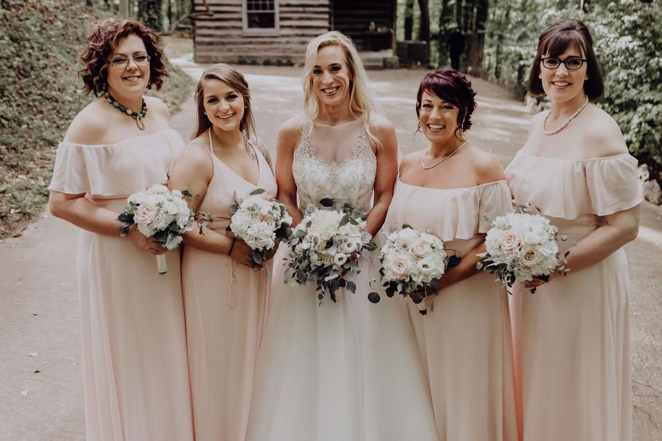 Bridal Party Makeup + Hair