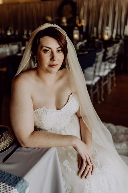 Bridal Inspired Makeup + Hair