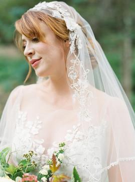 Cheekwood bridal portrait