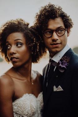 wedding photoshoot at Cherokee Dock