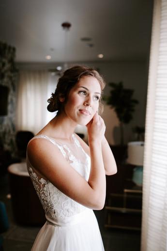 Bridal Makeup + Updo in Nashville, TN