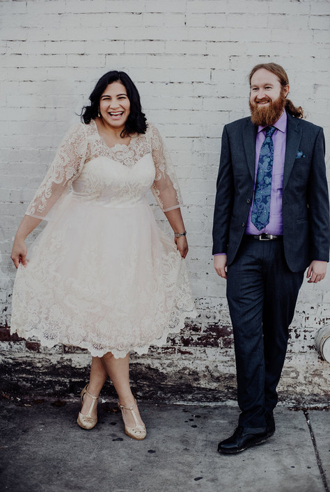 Bride & Groom in Nashville, TN