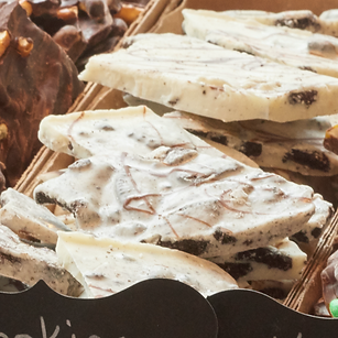 TCF Cookies and Cream Bark
