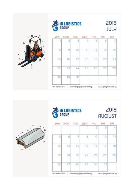 iG Logistics calendar 4
