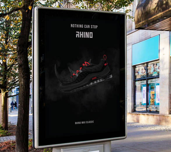 Rhino shoe AD