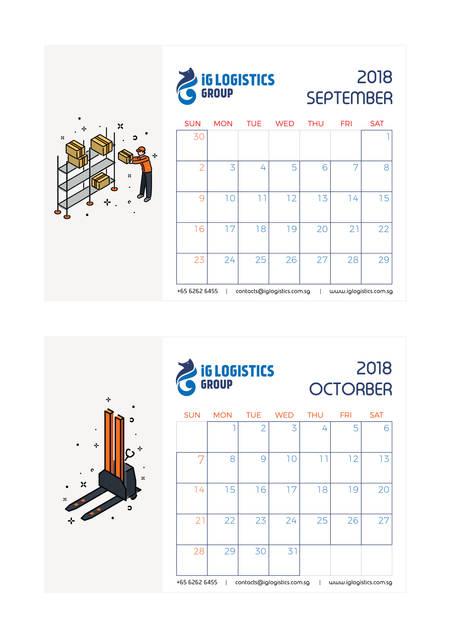 iG Logistics calendar 5