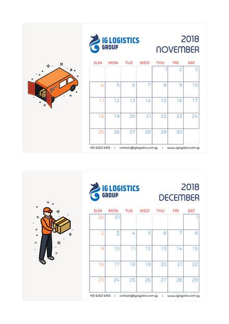 iG Logistics calendar 6