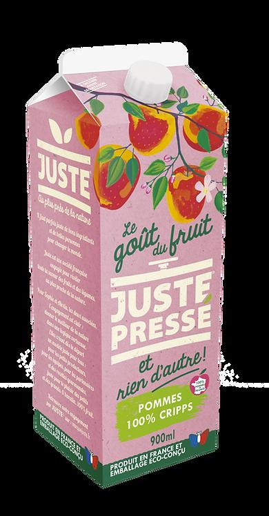 JUSTE Pressé - 100% Pommes Cripps Pink (900ml)