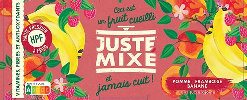 JUSTE MIXÉ - Pomme, Framboise, Banane (x2)