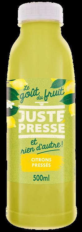 JUSTE Pressé - Citrons pressés (500ml)
