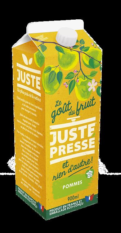 JUSTE Pressé - 100% Pommes (900ml)