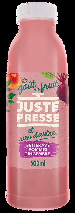 JUSTE Pressé - Betterave, Pommes, Gingembre (500ml)