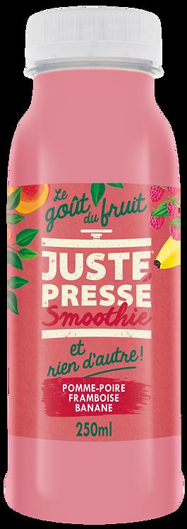 SMOOTHIE - Pomme, Poire, Framboise, Banane, Lait de Coco (250ml)