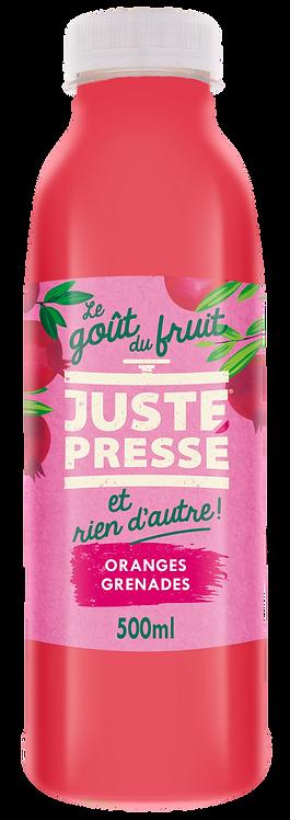 JUSTE Pressé - Orange, Grenade (500ml)