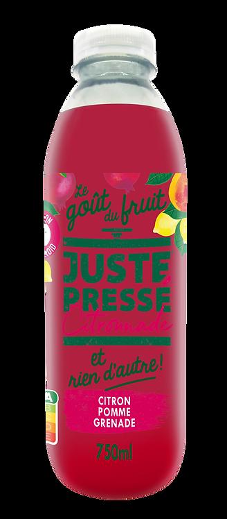 Juste Pressé - Citronnade Citron, Pomme, Grenade (750ml)