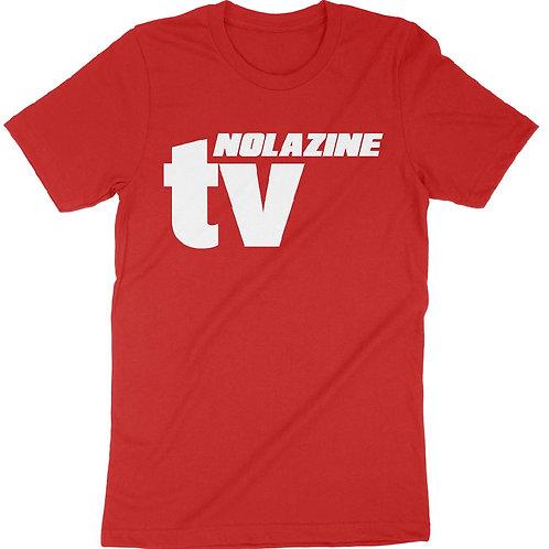 Red Nolazine TV T-Shirt
