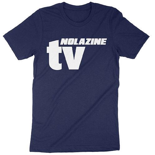 Blue Nolazine TV T-Shirt
