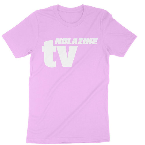 Pink Nolazine TV T-Shirt