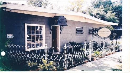 Showroom fence, Savannah GA