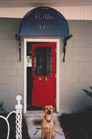 Studio entry, Savannah GA