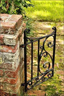 Garden gate, Savannah GA