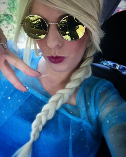 The Ice Queen Chills Out!