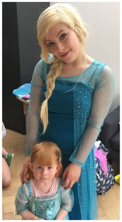 Ice Queen and her Mini-Me
