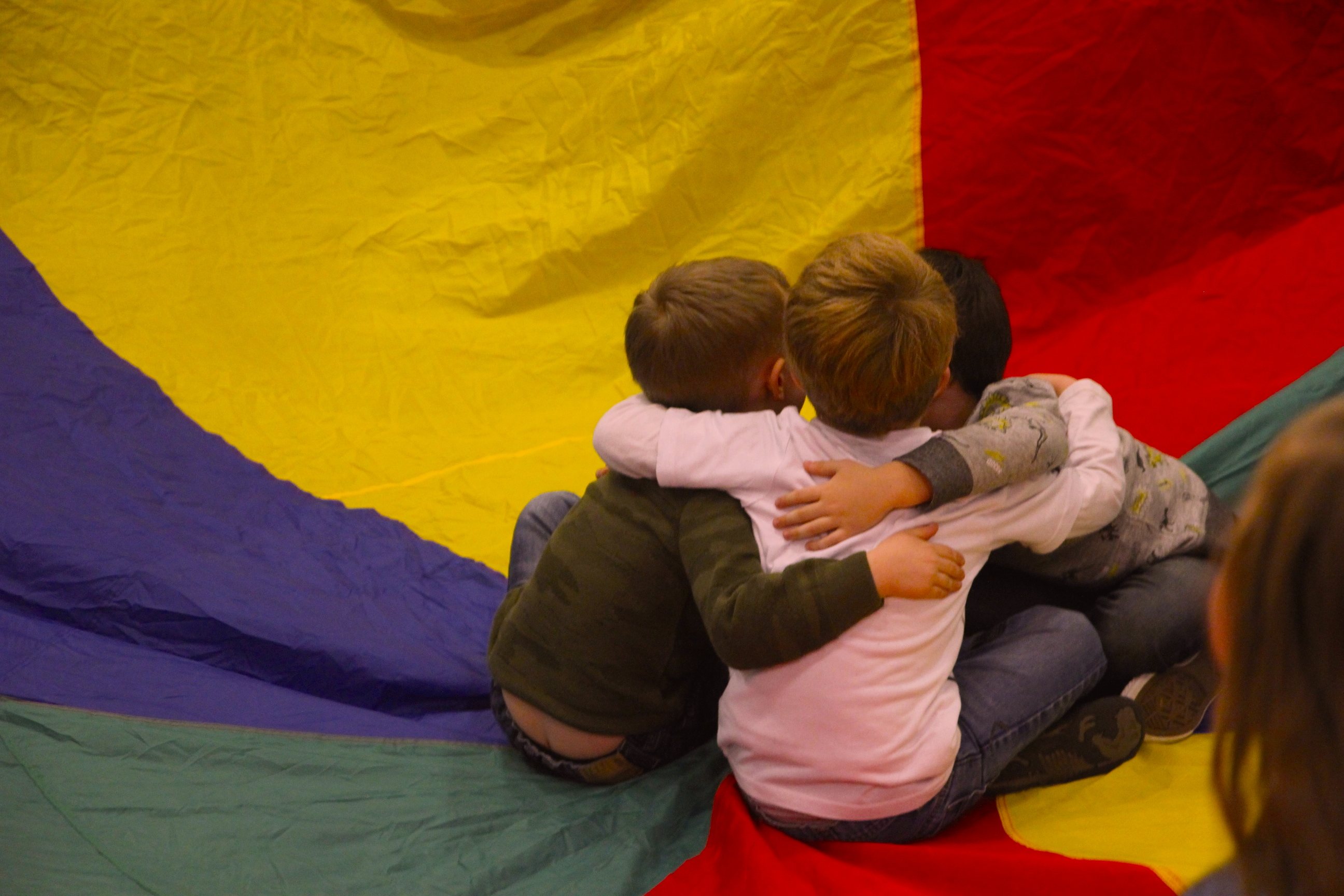 Boys in the Parachute