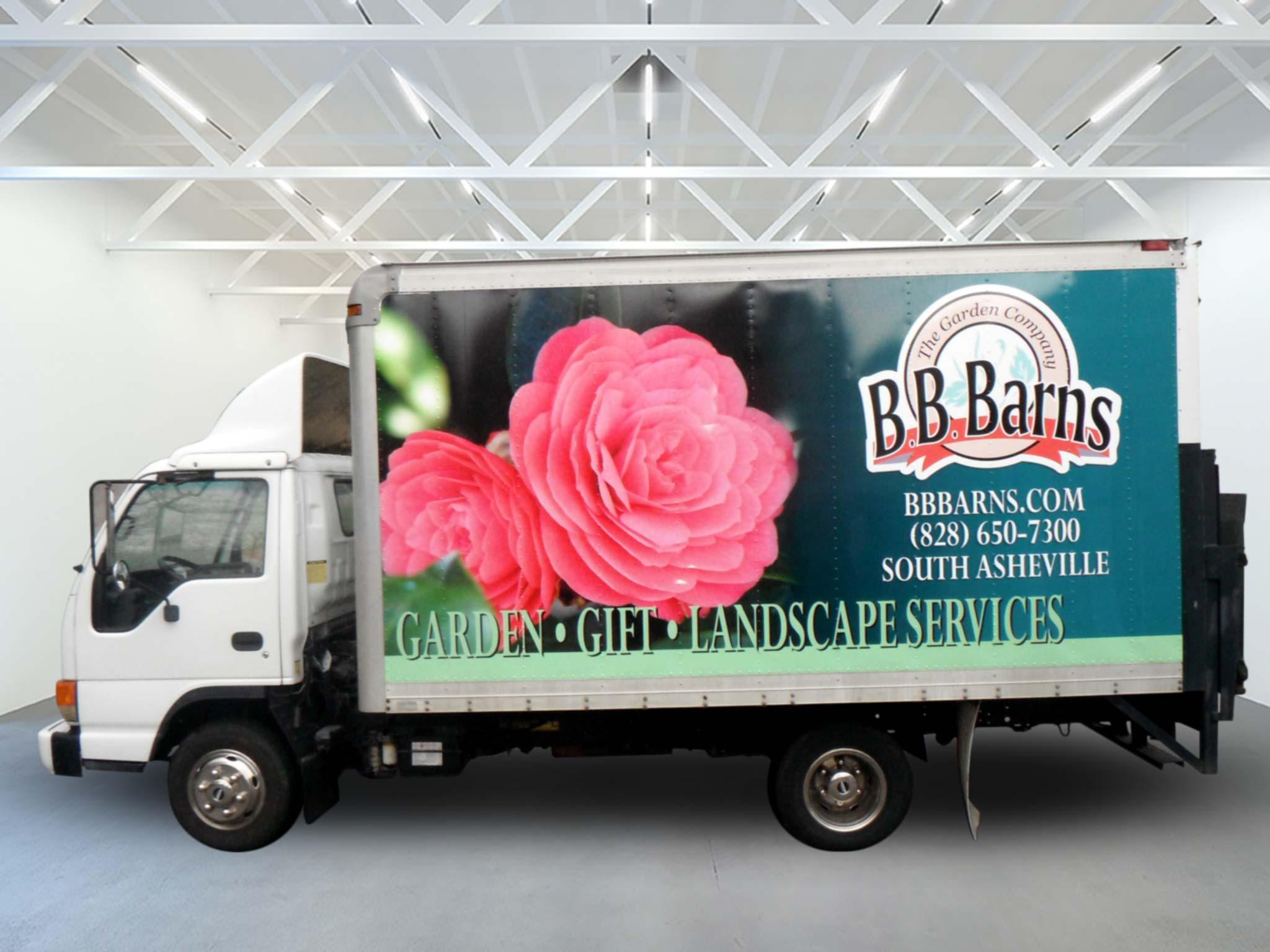 BB Barnes Box Truck