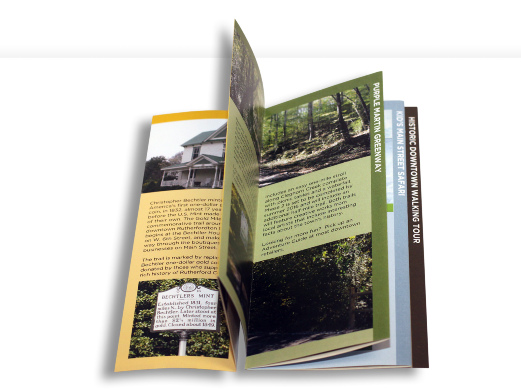 Explore Rutherfordton Brochure