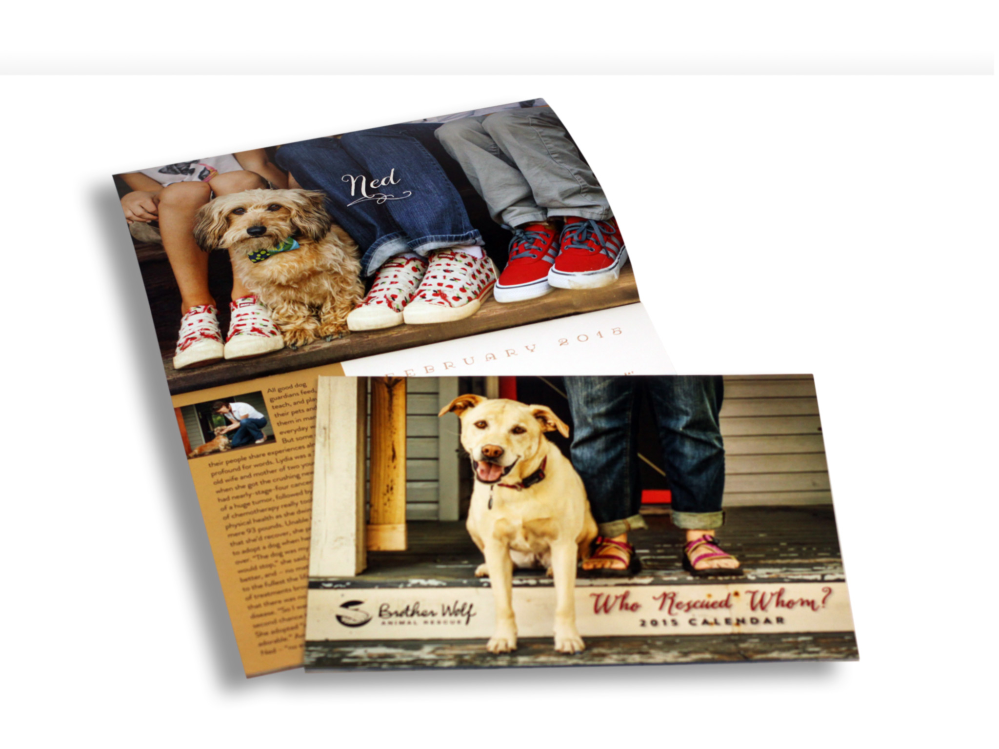 Brother Wolf Rescue Calendar