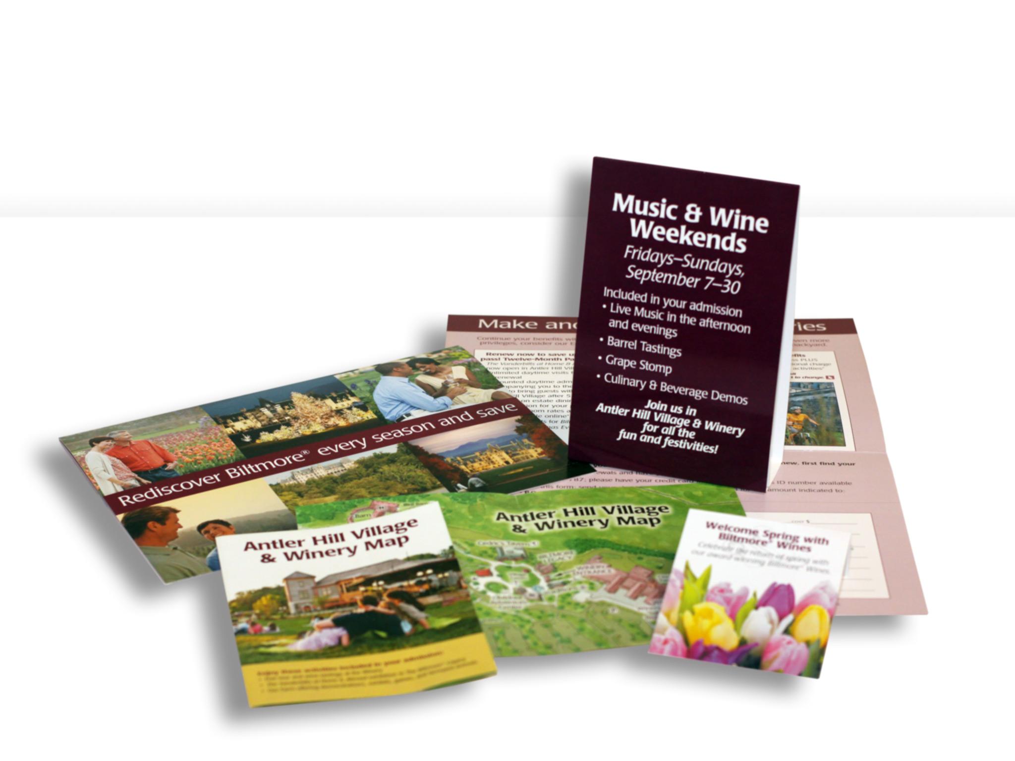 Biltmore Estate Promotional Pieces