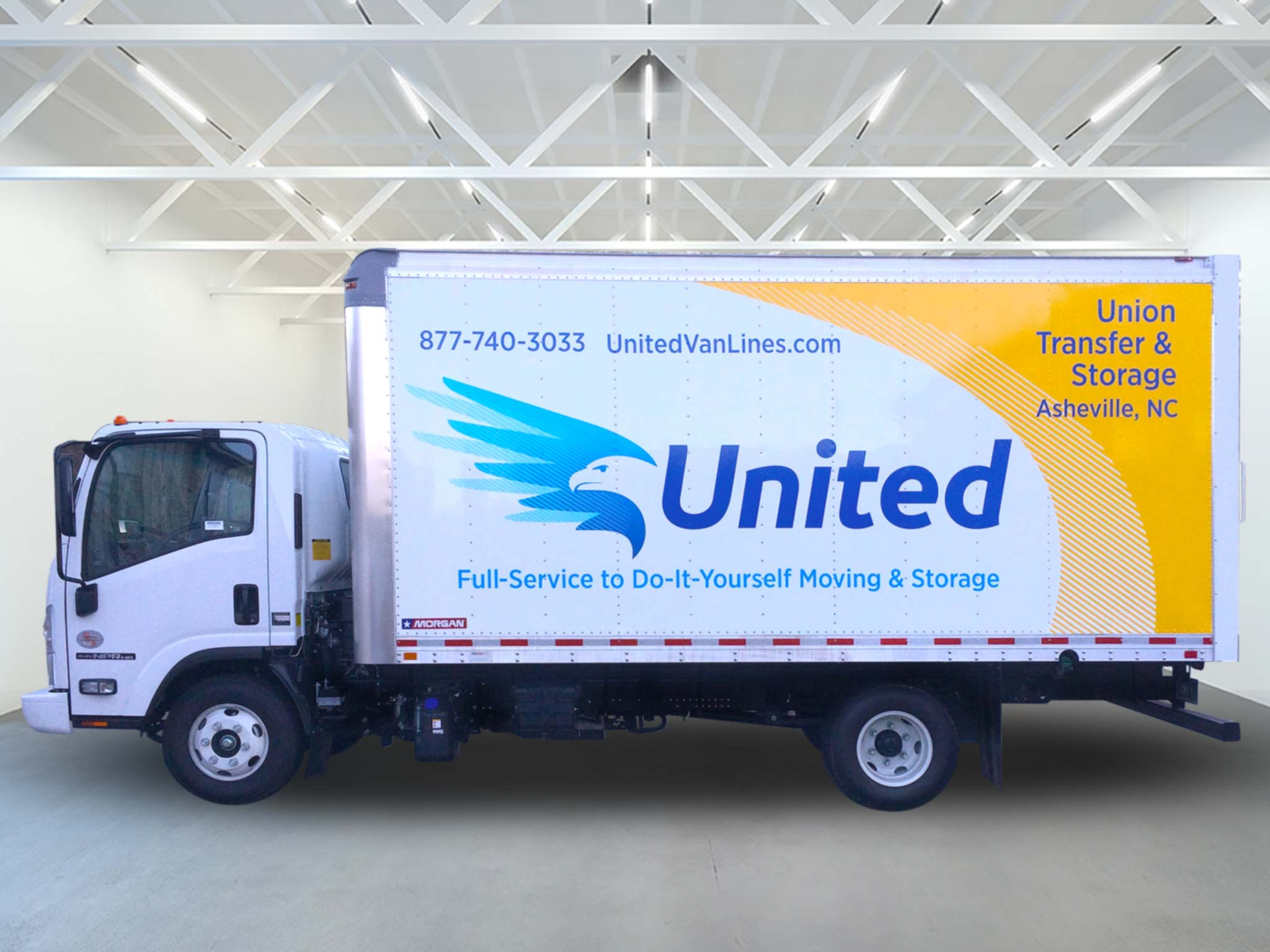 United Van Lines Box Truck
