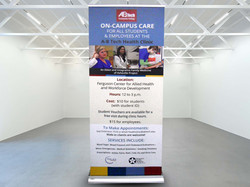 AB Tech Retractable Banner