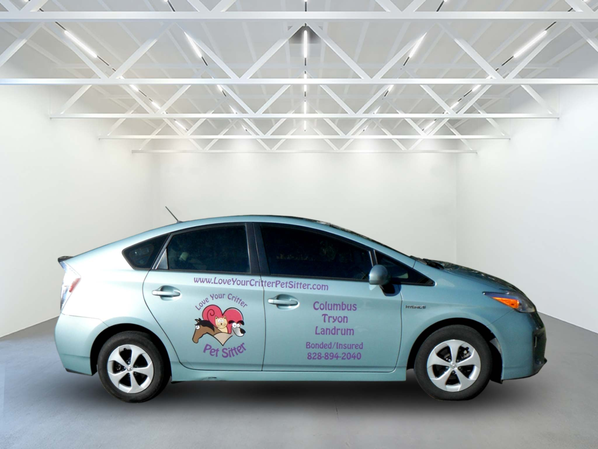 Love Your Pets Prius