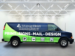 Advantage Van Wrap