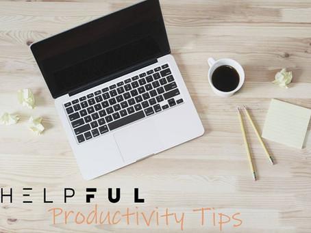 איך להיות פרודוקטיביים יותר?