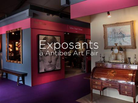 Salon des arts et antiquités d'Antibes 2017