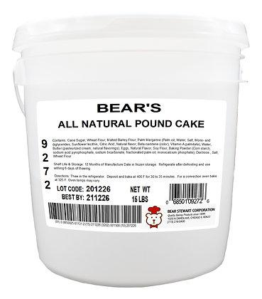 Plain Pound Cake Batter